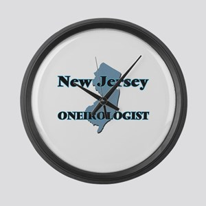 New Jersey Oneirologist Large Wall Clock
