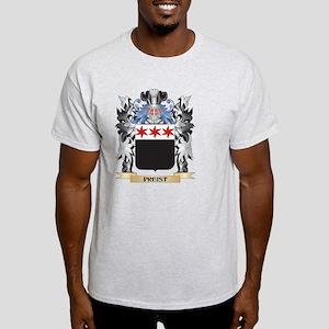 Preist Coat of Arms - Family Cr T-Shirt