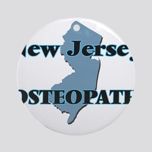 New Jersey Osteopath Round Ornament
