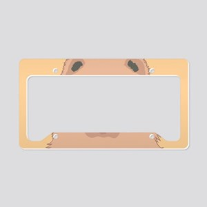 Chow Chow License Plate Holder