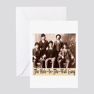 The Wild Bunch Greeting Card