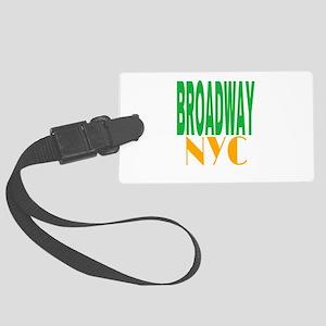 BROADWAY NYC Large Luggage Tag