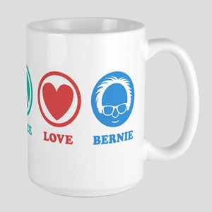 Peace Love Bernie Icons Mugs