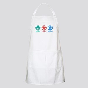 Peace Love Bernie Icons Apron