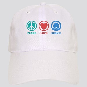 Peace Love Bernie Icons Baseball Cap