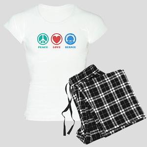 Peace Love Bernie Icons Pajamas