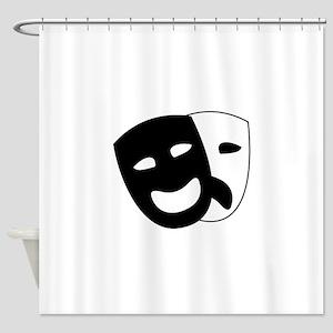 Theater masks Shower Curtain