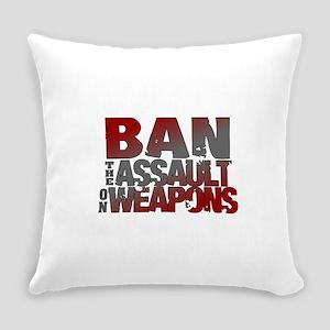 Ban Assault Weapons Everyday Pillow