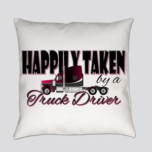 Happily Taken - Truck Driver Everyday Pillow