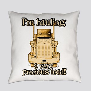 Hauling a Precious Load Everyday Pillow