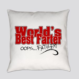 World's Best Farter Everyday Pillow