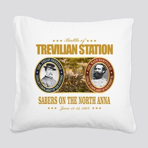 Trevilian Station (FH2) Square Canvas Pillow
