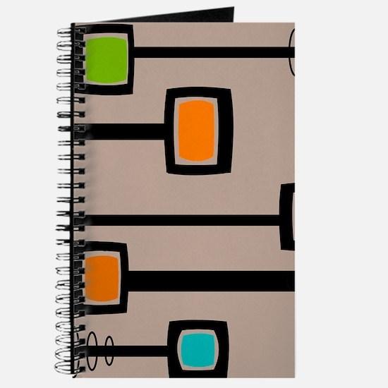 Mid-Century Abstract Art Journal