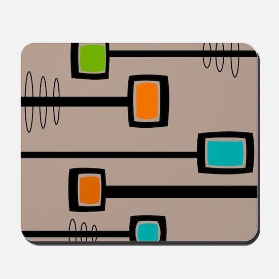Mid-Century Abstract Art Mousepad