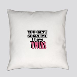 scaretwinspink Everyday Pillow