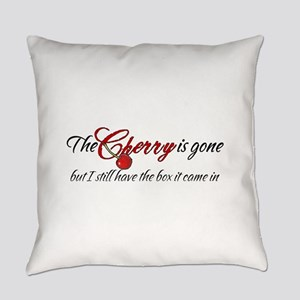 The Cherry is Gone Everyday Pillow