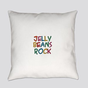 Jelly Beans Rock Everyday Pillow