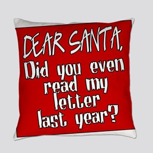 Dear Santa Everyday Pillow