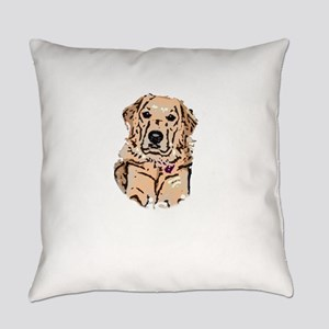 golden Everyday Pillow