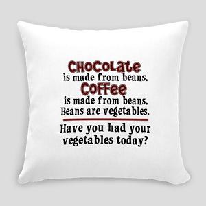 chocolatecoffee Everyday Pillow