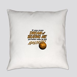 beating me Everyday Pillow