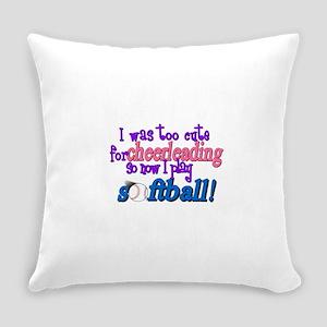 toocutesoftball Everyday Pillow