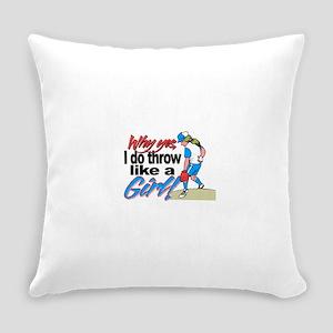 softballthrow Everyday Pillow