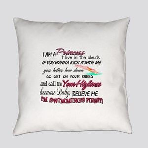 Swimming's Finest Everyday Pillow