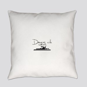 Dances with Waves Everyday Pillow