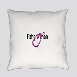 FisherWoman Everyday Pillow