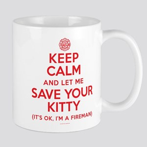 Keep Calm Save Kitty Mugs