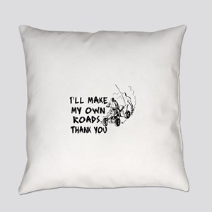 Make My Own Roads Everyday Pillow