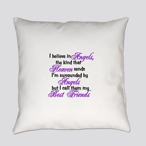 believe in angels Everyday Pillow
