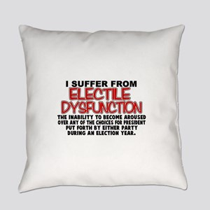 Electile Dysfunction Everyday Pillow