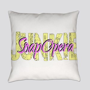 Soap Opera Junkie Everyday Pillow