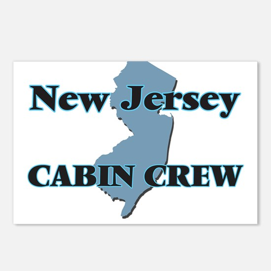 New Jersey Cabin Crew Postcards (Package of 8)