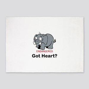 Got Heart? 5'x7'Area Rug