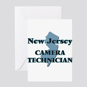 New Jersey Camera Technician Greeting Cards