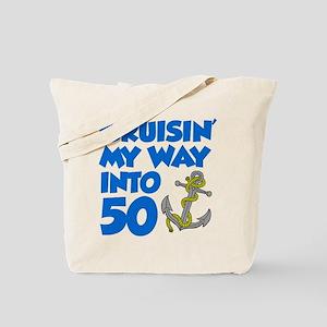 Cruisin Way Into 50 Tote Bag
