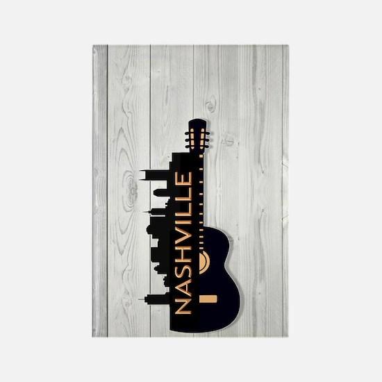 Nashville SGS5-WH Rectangle Magnet