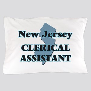 New Jersey Clerical Assistant Pillow Case