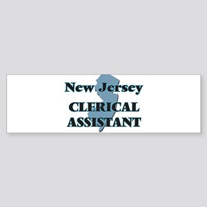 New Jersey Clerical Assistant Bumper Sticker