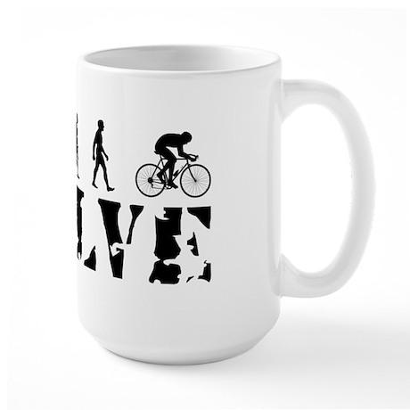 Cycling Bicycle Biking Large Mug