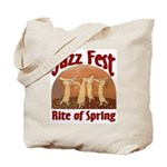 Jazz Fest Rite of Spring Tote Bag