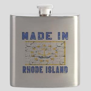 Made In Rhode Island Flask