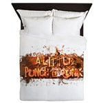 ALPD_LOGO_large_white Queen Duvet