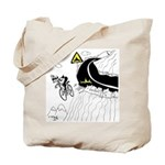 Bicycle Cartoon 9334 Tote Bag