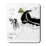 Bicycle Cartoon 9334 Mousepad