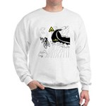Bicycle Cartoon 9334 Sweatshirt