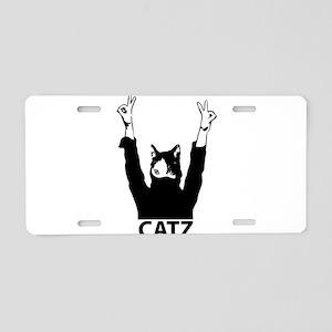 Catz Aluminum License Plate